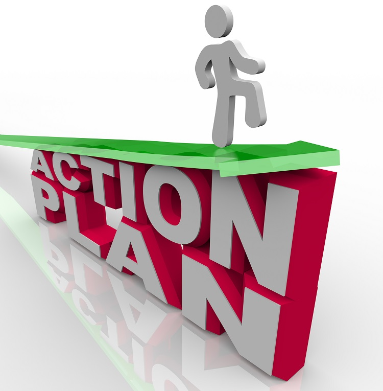 How To Create An Action Plan (FREE Action Plan Template) blog image