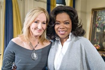 J K Rowling and Oprah Winfrey image
