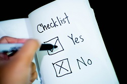 To do checklist image
