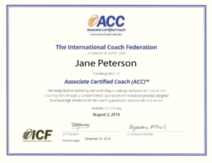 ICF certification for Authentic Education's life coaching courses
