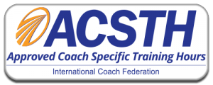 ICF ACSTH for Authentic Education's life coaching courses