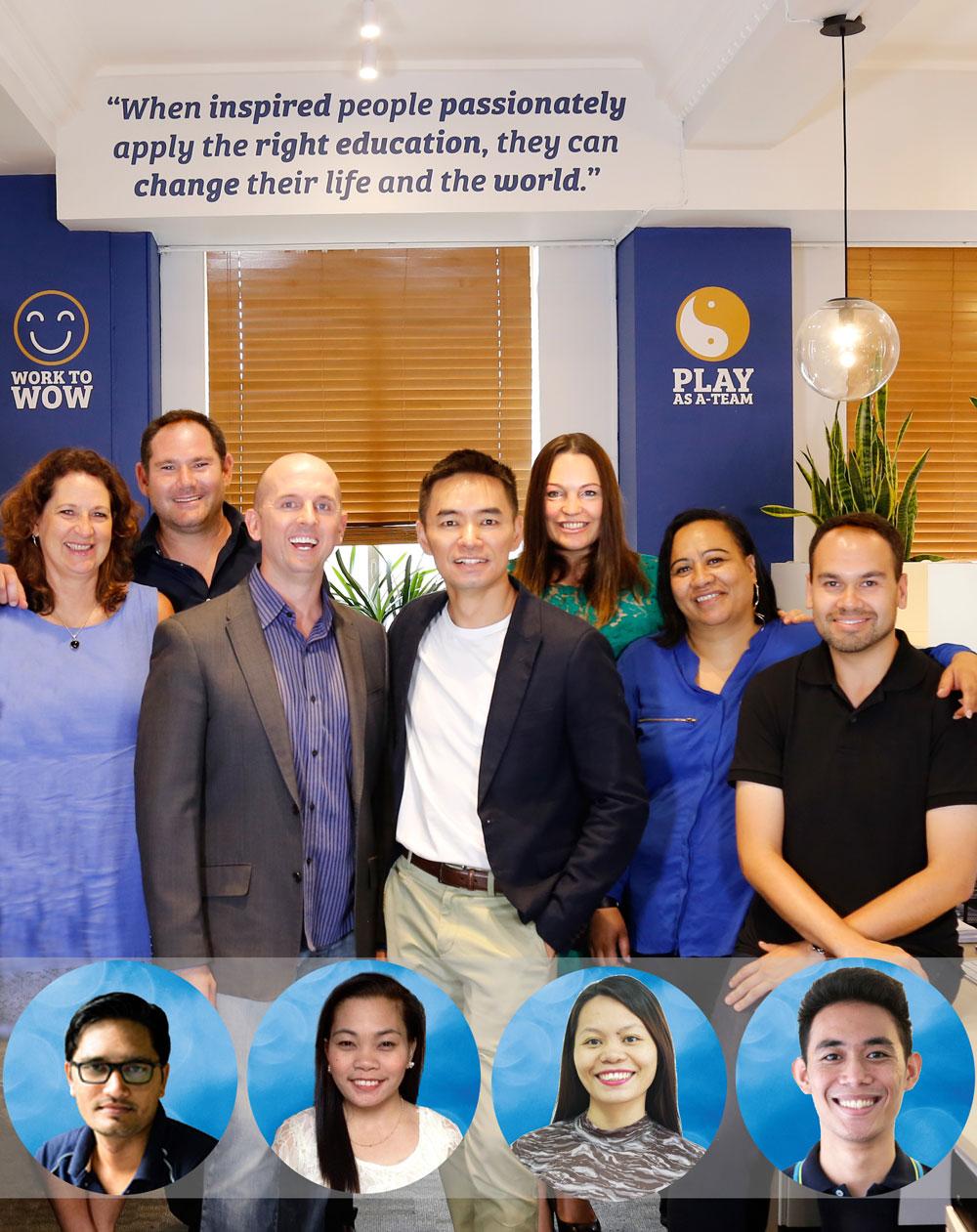 Authentic Education Team (Benjamin Harvey Cham Tang)