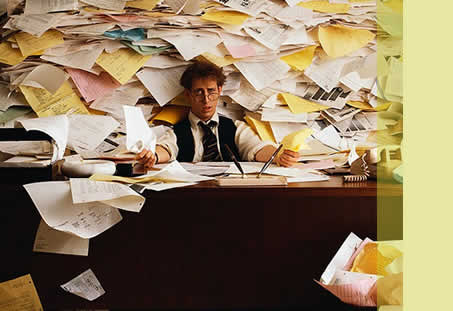 How To Overcome Being Overwhelmed blog post image