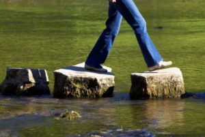 stopping procrastination with stepping stones