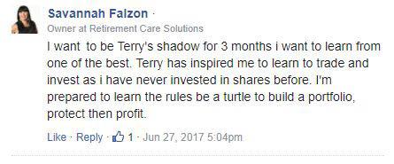 savannah falzon share investing