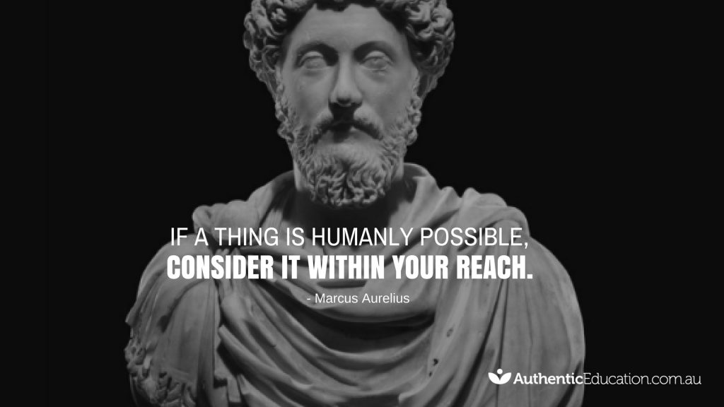Marcus Aurelius Quote On Reaching You Goals In Life