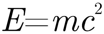 E equals MC squared image