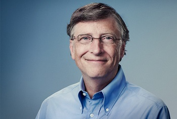 Bill Gates, Founder of Microsoft, business magnate, investor, author, self-proclaimed philanthropist and humanitarian