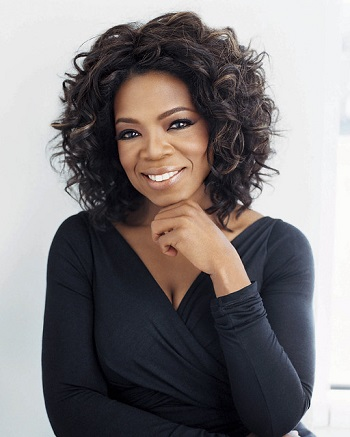 Oprah Winfrey, Television personality, actress and entrepreneur