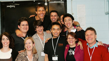 Cham Tang with Anthony Robbins