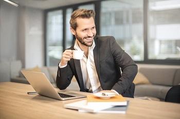 Successful consultant image