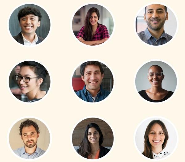 Linkedin profile pictures sample image