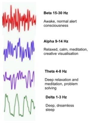 Brain waves image