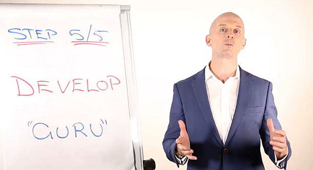 "Most Effective Coaching Model For Rapid Results - Step 5: Develop ""Guru"""