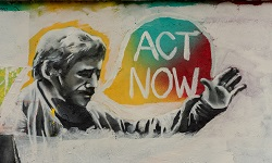 Act now painting image