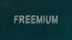 Freemium text image