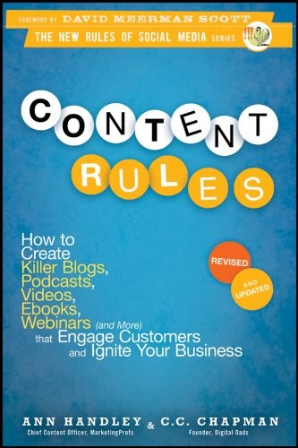 Content Rules By Ann Handley & C.C. Chapman front cover image