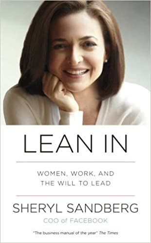 Lean In By Sheryl Sandberg front cover image