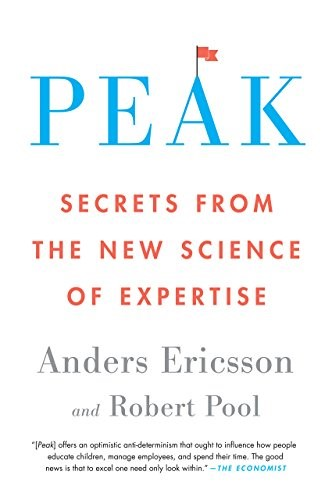 Peak By Anders Ericcson And Robert Pool PDF image