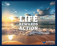 Authentic Education music album Life Rewards Action 200w image
