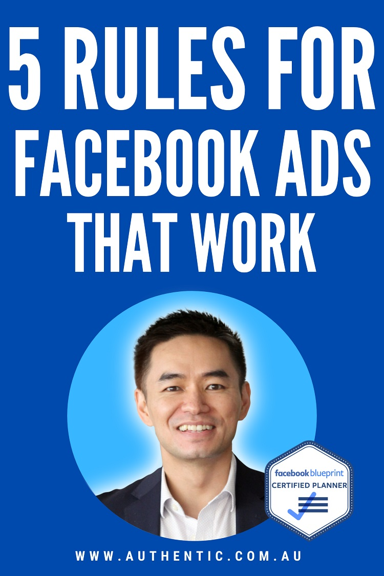 5 Rules For Facebook Ads That Work eBook Cover image