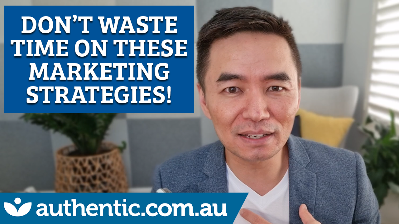Don't Waste Time On These Marketing Strategies blog image