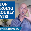 Stop charging an hourly rate blog image