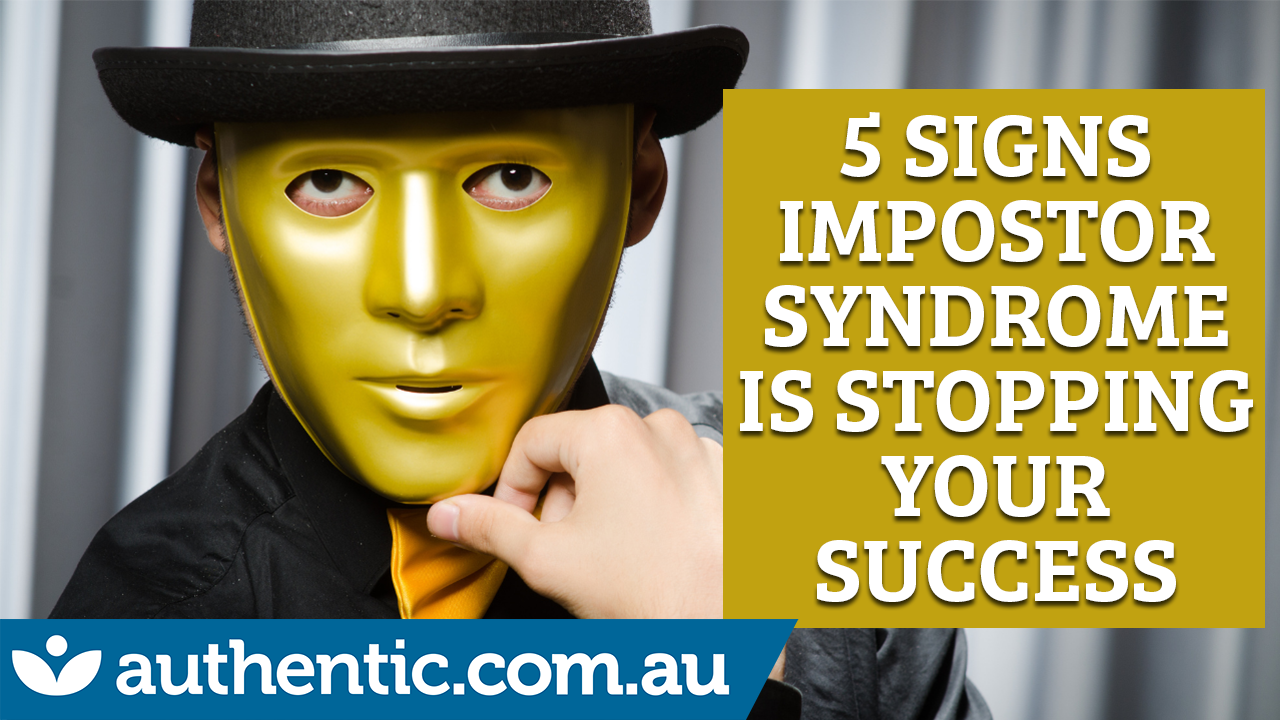 5 Signs Impostor Syndrome Is Stopping Your Success blog image