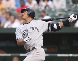 Alex Rodriguez baseball image