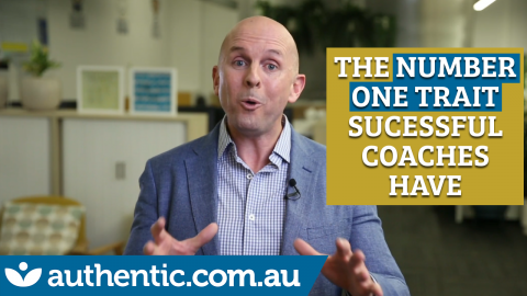 What is the NUMBER ONE trait that all successful coaches have blog image